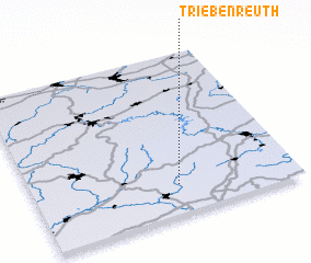3d view of Triebenreuth