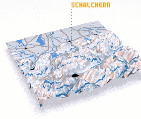 3d view of Schalchern
