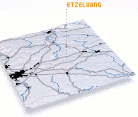 3d view of Etzelwang