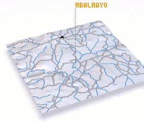 3d view of Mbalmayo