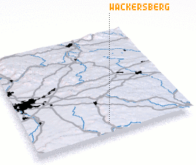 3d view of Wackersberg