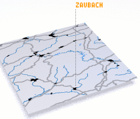 3d view of Zaubach