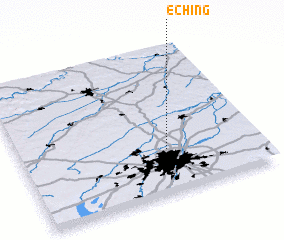 3d view of Eching