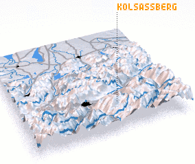 3d view of Kolsassberg