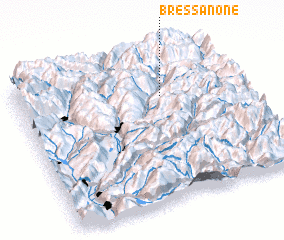 3d view of Bressanone