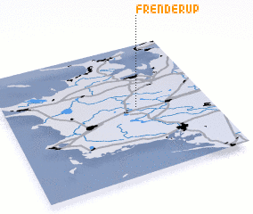 3d view of Frenderup