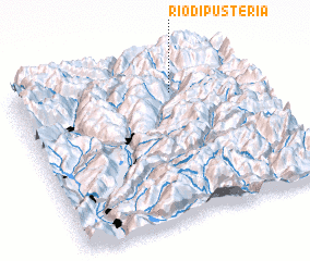 3d view of Rio di Pusteria