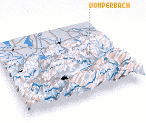 3d view of Vomperbach