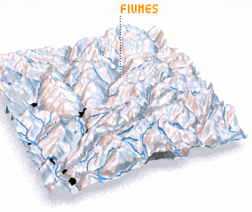 3d view of Fiumes