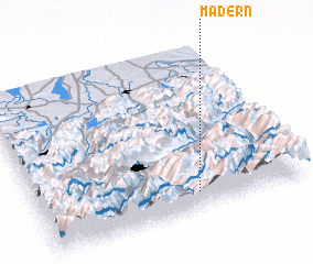 3d view of Madern