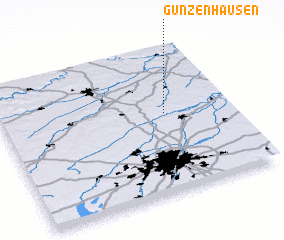 3d view of Günzenhausen