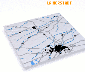 3d view of Laimerstadt