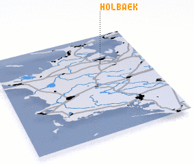 Holbk Denmark map nonanet