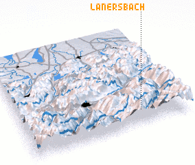 3d view of Lanersbach