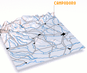 3d view of Campodoro