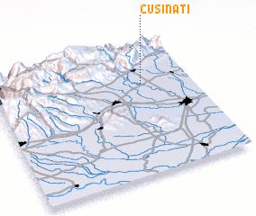 3d view of Cusinati