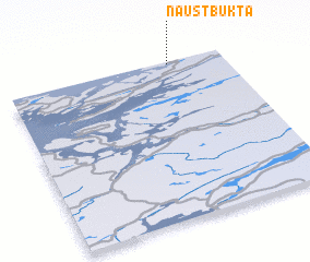 3d view of Naustbukta