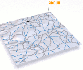 3d view of Adoum