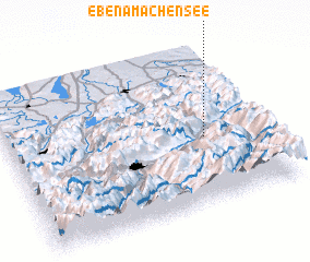3d view of Eben am Achensee
