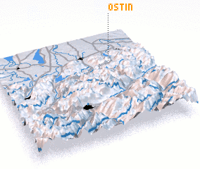 3d view of Ostin