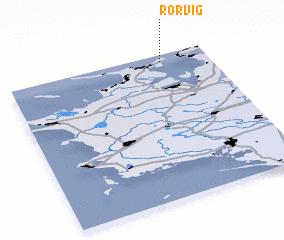 3d view of Rørvig