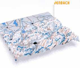 3d view of Jenbach