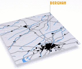 3d view of Bergham