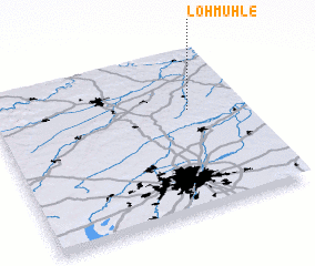 3d view of Lohmühle