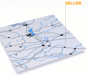 3d view of Dallmin