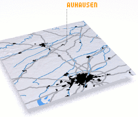 3d view of Auhausen