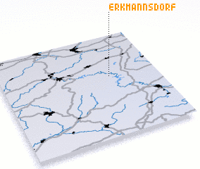 3d view of Erkmannsdorf