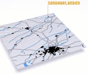 3d view of Sandharlanden