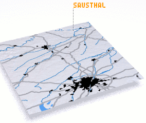 3d view of Sausthal