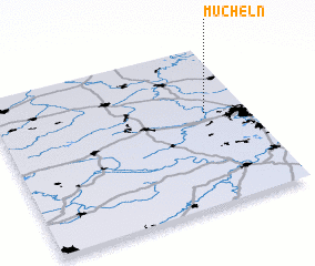 3d view of Mücheln