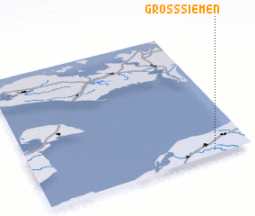 3d view of Groß Siemen