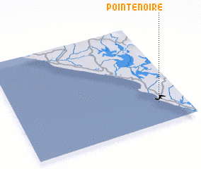 3d view of Pointe-Noire