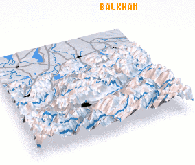 3d view of Balkham