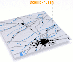 3d view of Schmidhausen