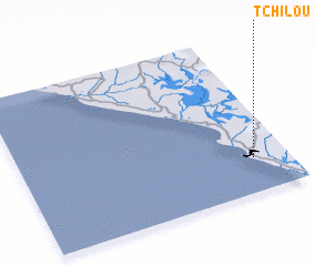 3d view of Tchilou