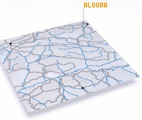 3d view of Alouma