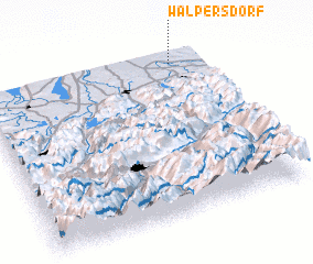 3d view of Walpersdorf