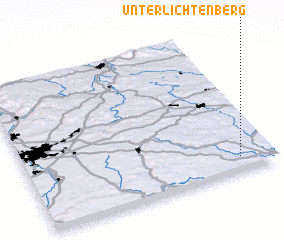 3d view of Unterlichtenberg