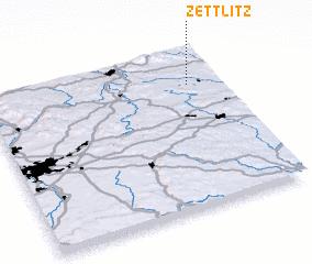 3d view of Zettlitz