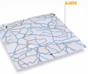 3d view of Ajané