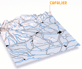 3d view of Ca Falier