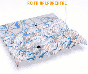 3d view of Reith im Alpbachtal