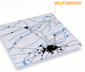 3d view of Wolfshausen