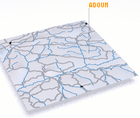 3d view of Adoum