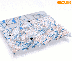 3d view of Ginzling
