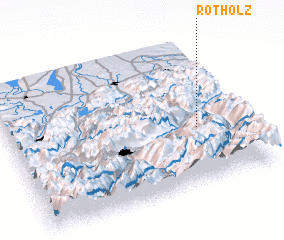 3d view of Rotholz